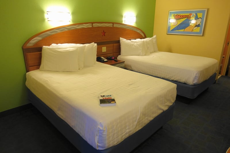 Photo Tour Of A Standard Room At Disney S All Star Sports