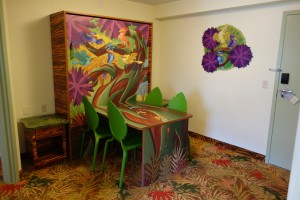 Dining Table in Lion King Family Suite at Disney's Art of Animation Resort from yourfirstvisit.net
