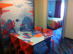 Entry to Nemo Family Suite in Disney's Art of Animation Resort