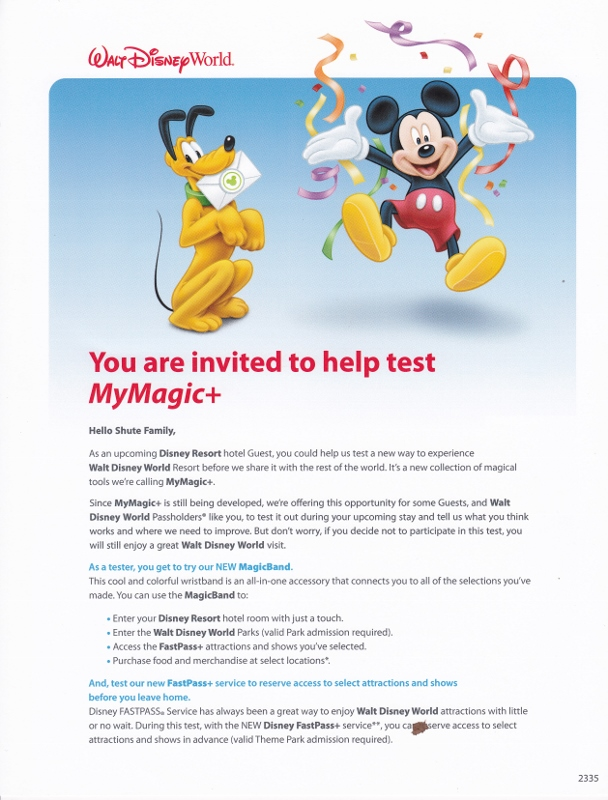 Invitation Letter To Disney World | Infoinvitation.co
