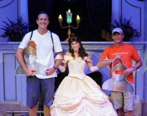 Helping Out at Enchanted Tales with Belle from yourfirstvisit.net