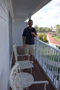 Balcony at the Villas at Disney's Grand Floridian from yourfirstvisit.net