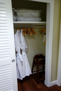 Closet Two Second Bedroom at Disney's Grand Floridian Resort & Spa from yourfirstvisit.net