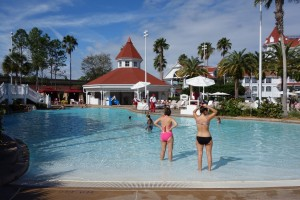 Pool at Disney's Grand Floridian Resort & Spa from yourfirstvisit