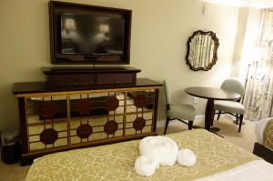 TV Side Second Bedroom at Disney's Grand Floridian Resort & Spa from yourfirstvisit.net