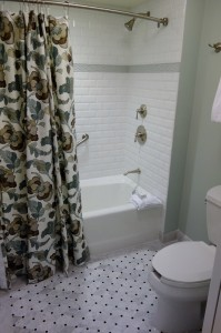 Tub-Shower Combo Second Bedroom at Disney's Grand Floridian Resort & Spa from yourfirstvisit.net
