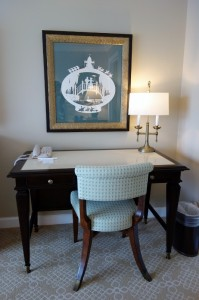 Desk Master Bedroom in One and Two Bedroom Villas at Disney's Grand Floridian Resort & Spa from yourfirstvisit.net