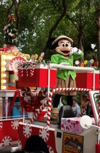 Mickey's Jingle Jungle Christmas Parade at the Animal Kingdom from yourfirstvisit.net