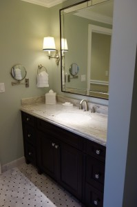Other Sink Master Bath in One and Two Bedroom Villas at Disney's Grand Floridian Resort & Spa from yourfirstvisit.net