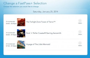 FastPass+ from MagcBand and AP HS 1-25