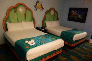 Little Mermaid Bedroom from yourfirstvisit.net