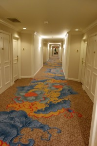Hallways at Disney's Grand Floridian Resort & Spa from yourfirstvisit.net