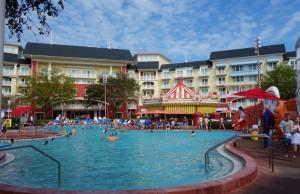 Luna Park Pool at Disney's BoardWalk Inn and Villas from yourfirstvisit.net