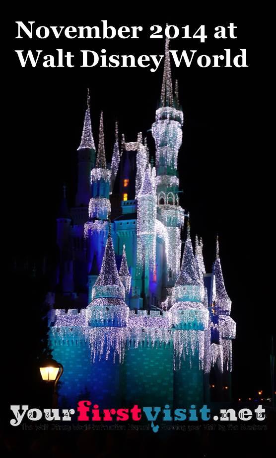 November 2014 at Walt Disney World