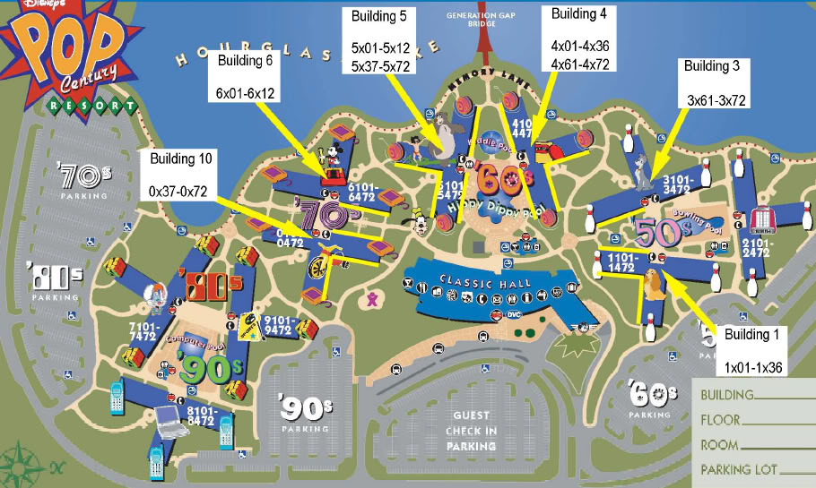 How To Get The Best Rooms At Pop Century