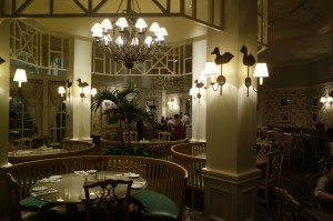 Grand Floridian Cafe at Disney's Grand Floridian Resort from yourfirstvisit.net