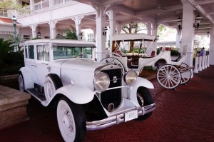 Vehicles at Disney's Grand Floridian Resort from yourfirstvisit.net