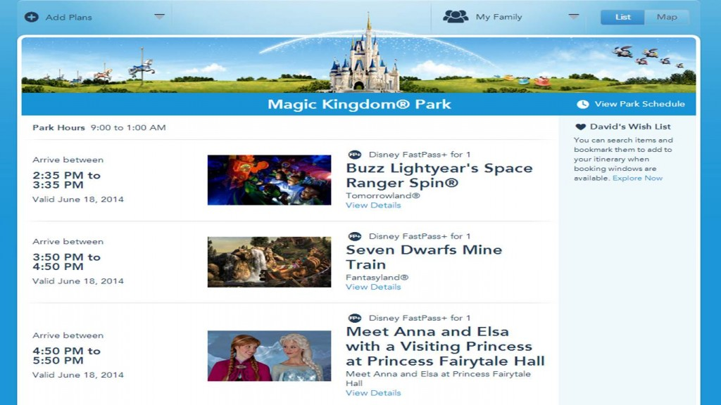 Anna and Elsa FastPass+ from yourfirstvisit.net