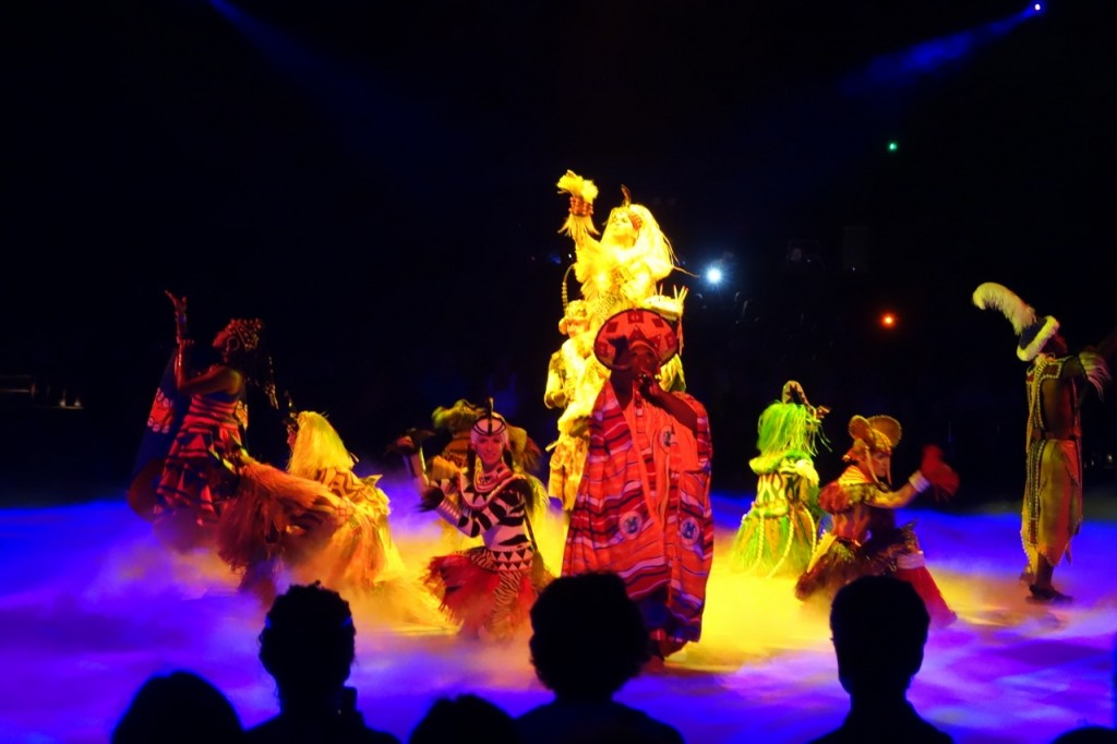 Festival of the Lion King at Animal Kingdom from yourfirstvisit.net
