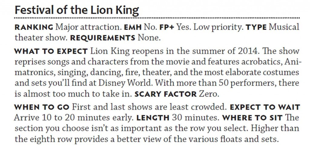 Festival of the Lion King from The easy Guide