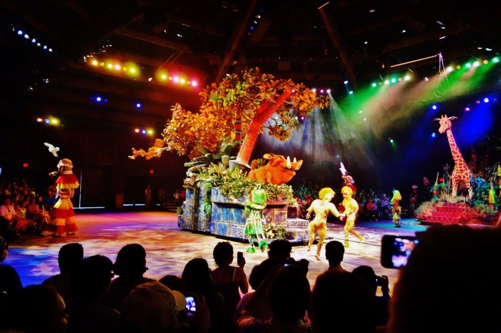Pumbaa Festival of the Lion King From yourfirstvisit.net