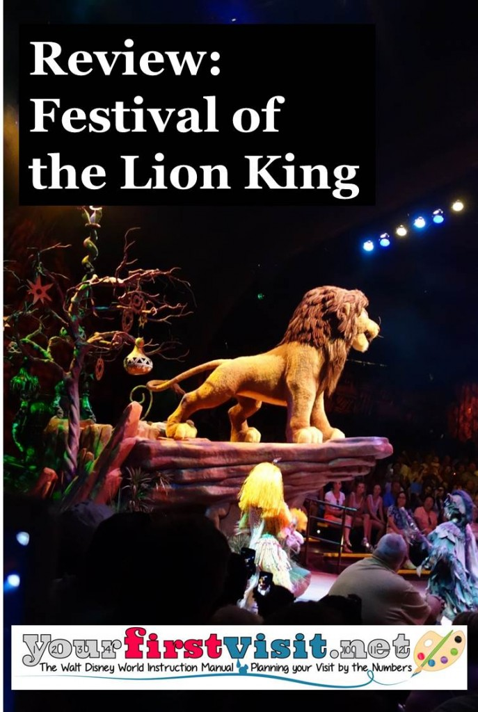 Review -Festival of the Lion King from yourfirstvisit.net
