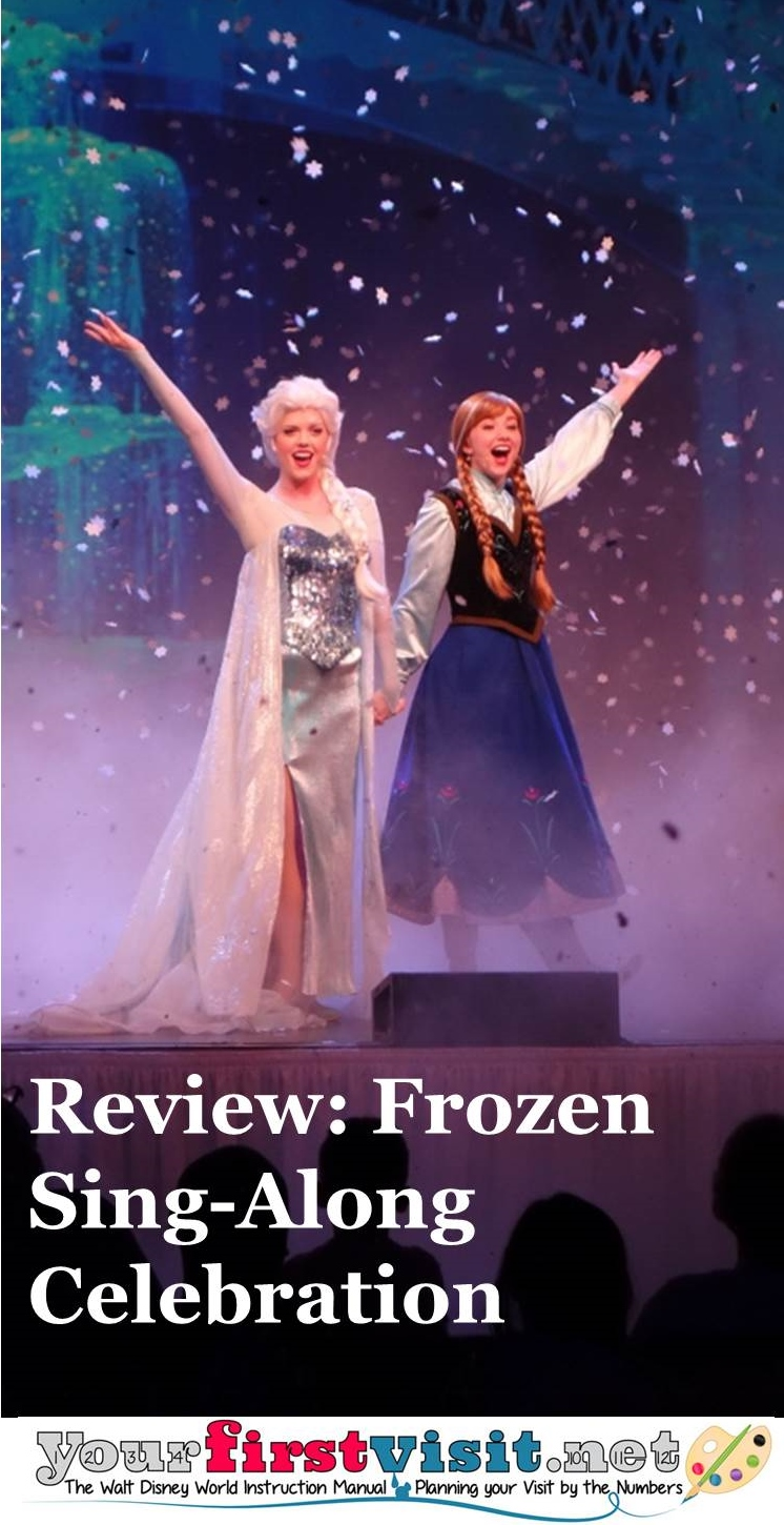 Review - Frozen Sing-Along Celebration at Disney's Hollywood Studios from yourfirstvisit.net