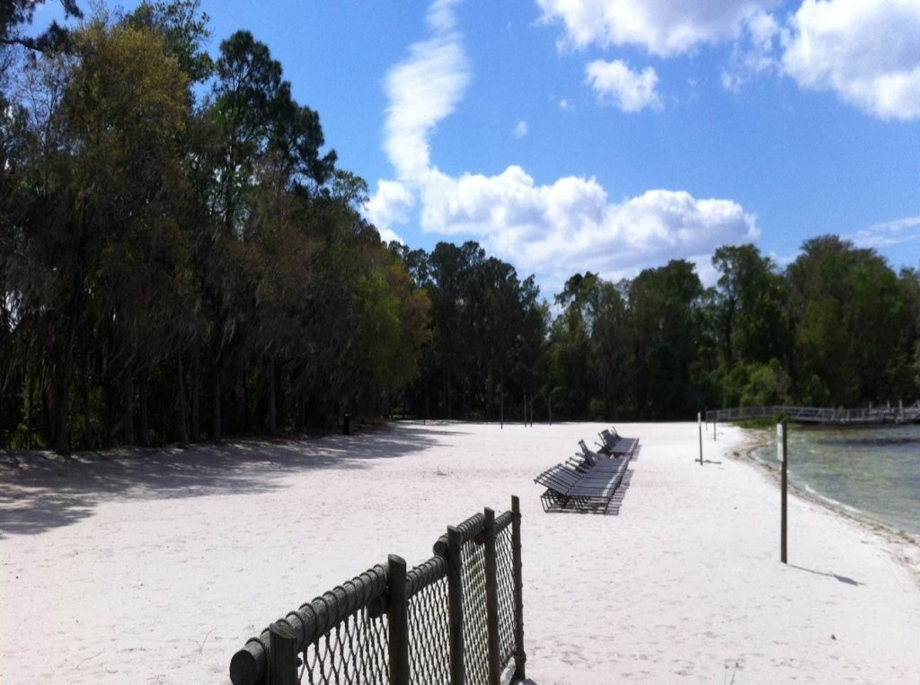 Beach at Disney's Fort Wilderness Resort from yourfirstvisit.net