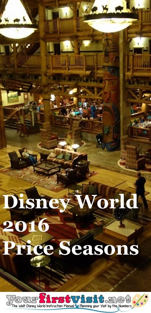 Disney World 2016 Price Seasons from yourfirstvisit.net