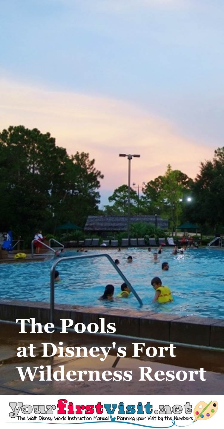 The Pools at Disney's Fort Wilderness Resort from yourfirstvisit.net