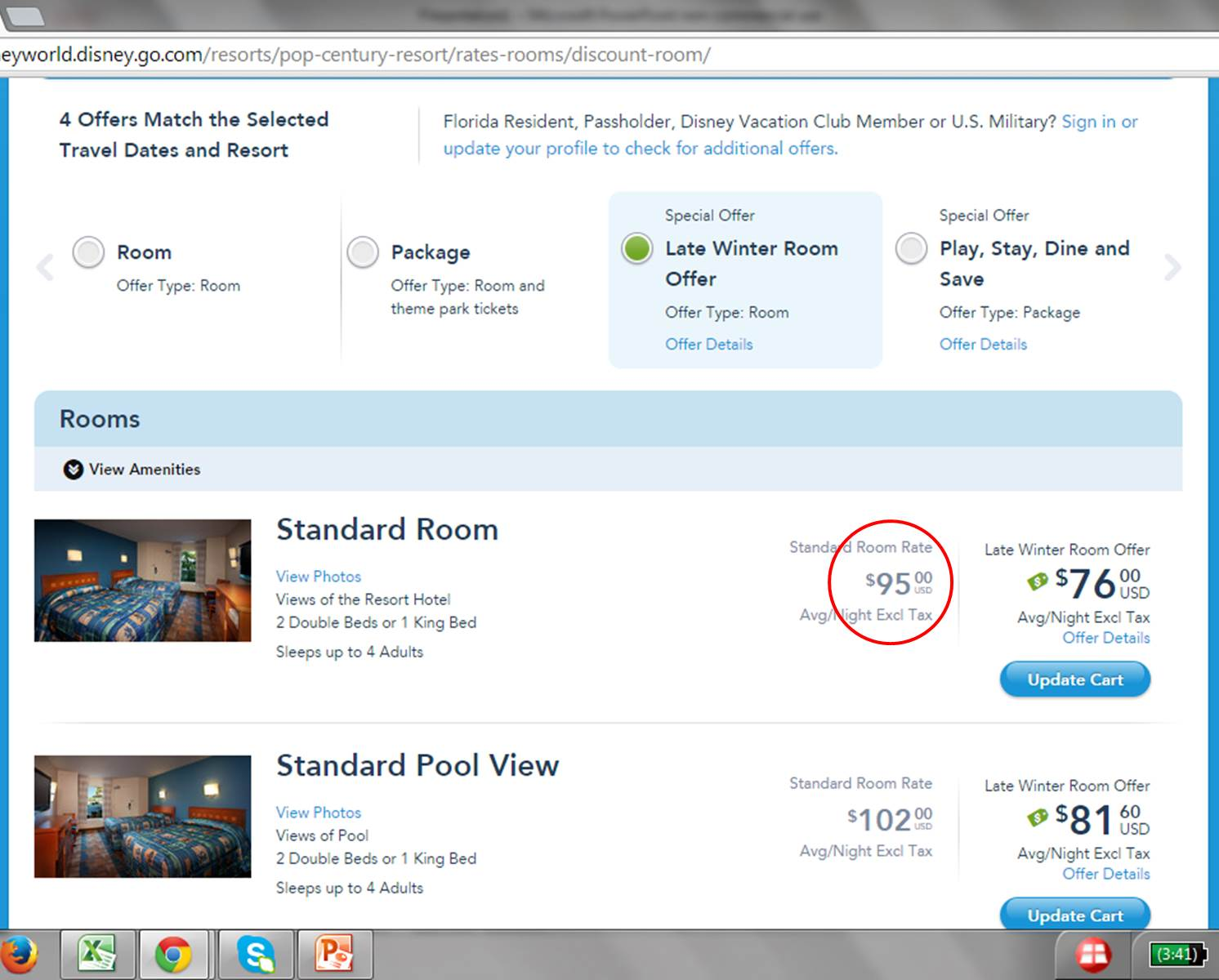 Disney world 39 s play stay dine and save discount for Save room net