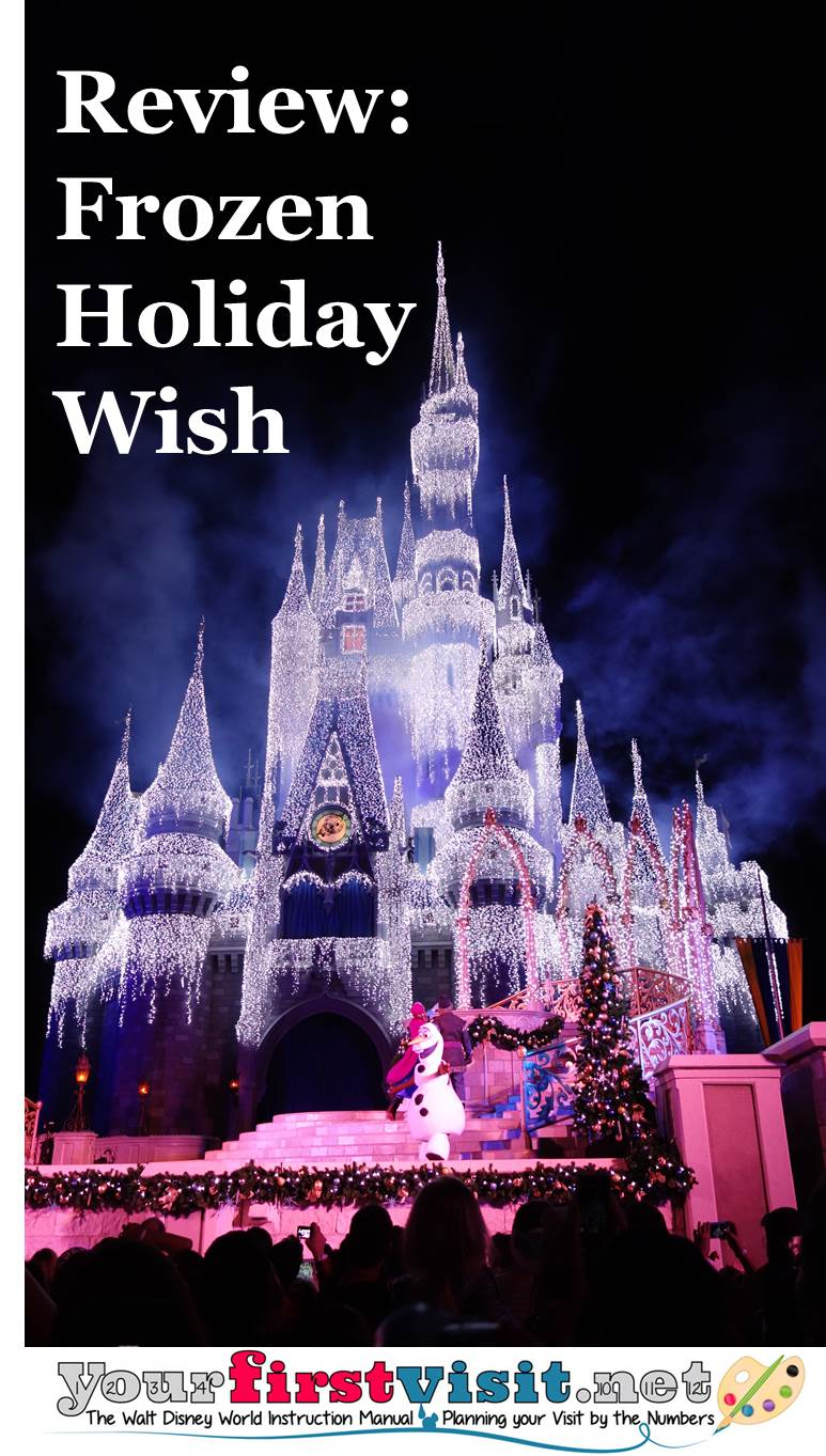Review Frozen Holiday Wish from yourfirstvisit.net