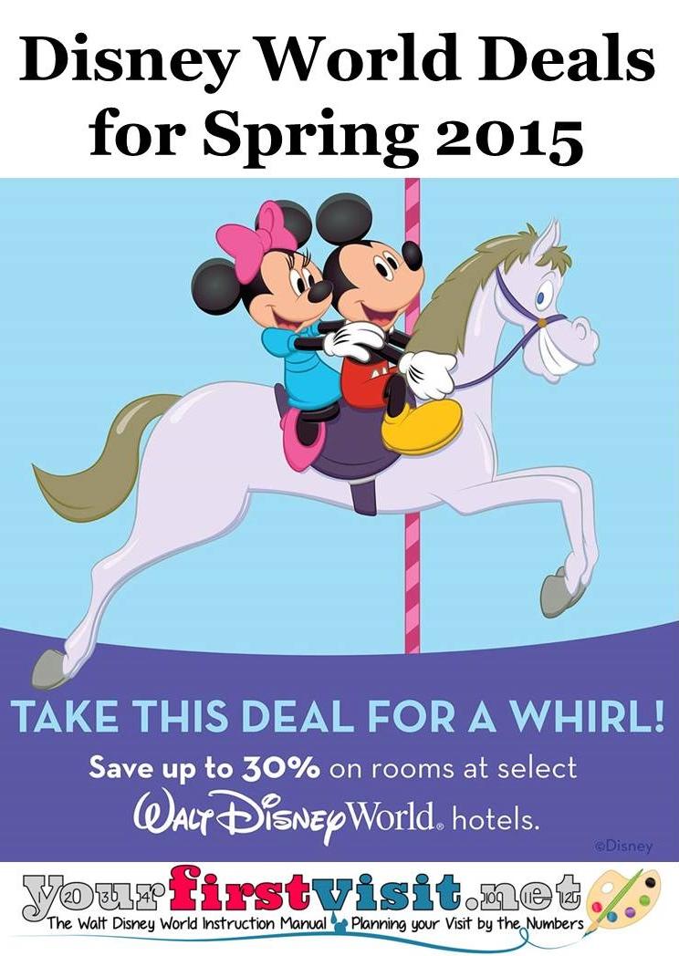 Disney World Room Rate Deal Spring 2015