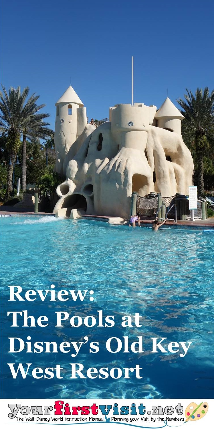 Review Pools at Disney's Old Key West Resort from yourfirstvisit.net