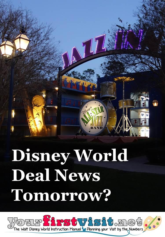 Disney World Deal Rumors from yourifrstvisit.net
