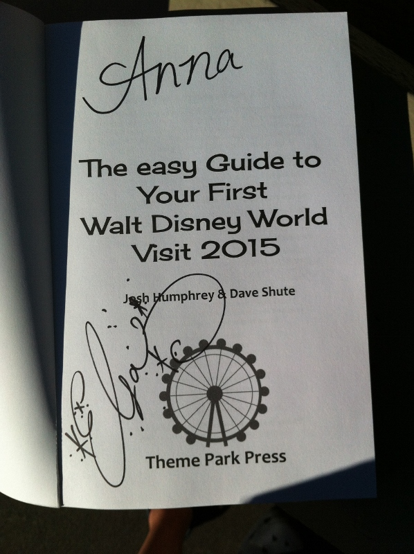 The easy Gudie Signed by Anna and Elsa