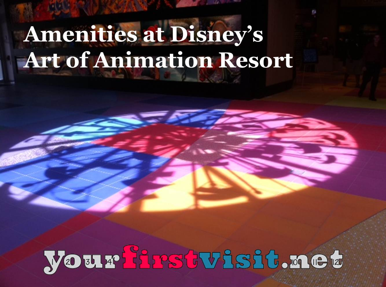 Amenities at Disney's Art of Animation Resort from yourfirstvisit.net