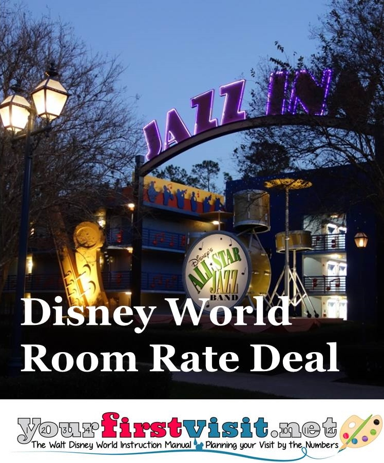 Disney World Late Summer Room Rate Deal from yourfirstvisit.net