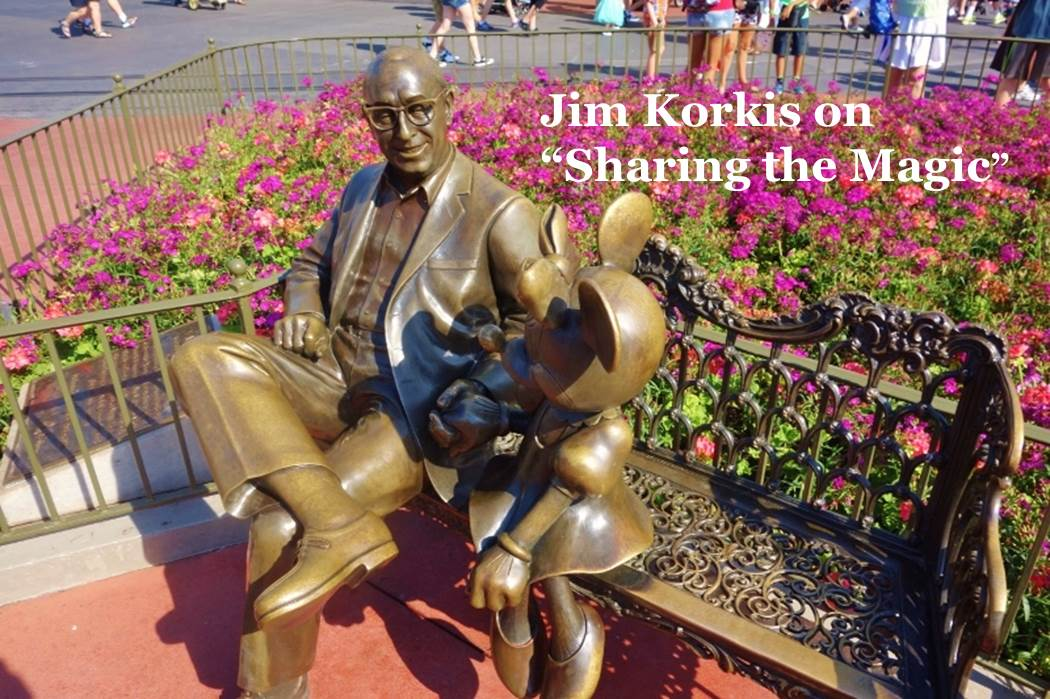 Jim Korkis on thw Sharing the Magic statue from yourfirstvisit.net