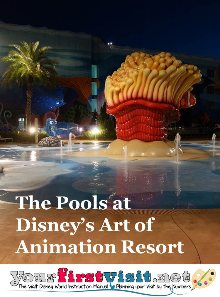 The Pools at Disney's Art of Animation Resort from yourfirstvisit.net