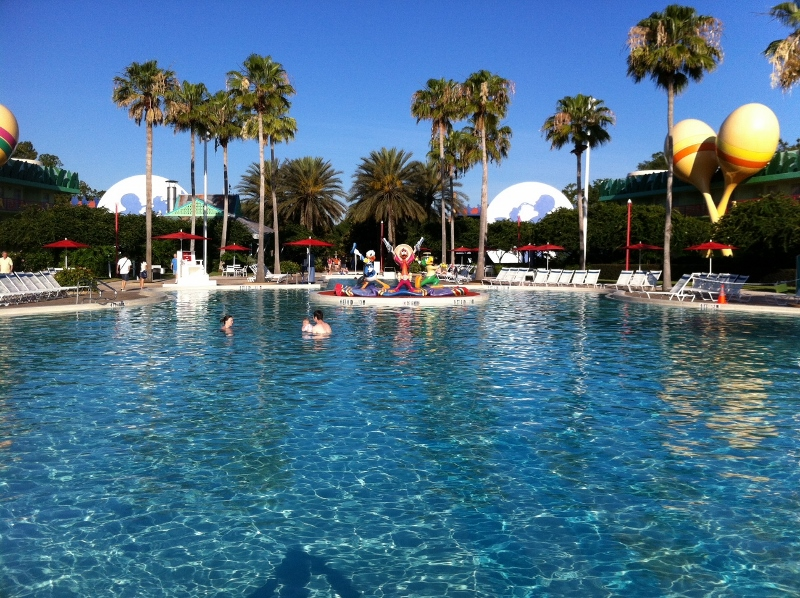 Main Pool Disney's All-Star Music Resort from yourfirstvisit.net