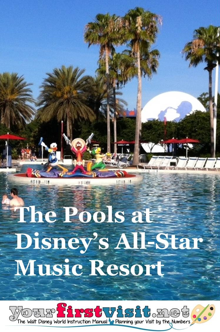 Review The Pools at Disney's All-Star Music Resort