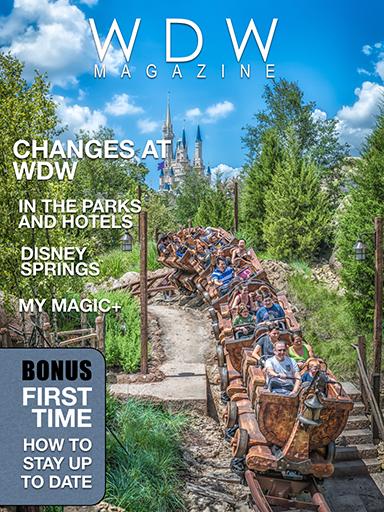 WDW Magazine Changes Issue