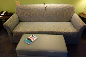 Couch Living Room Disney's All-Star Music Family Suite from yourfirstvisit.net