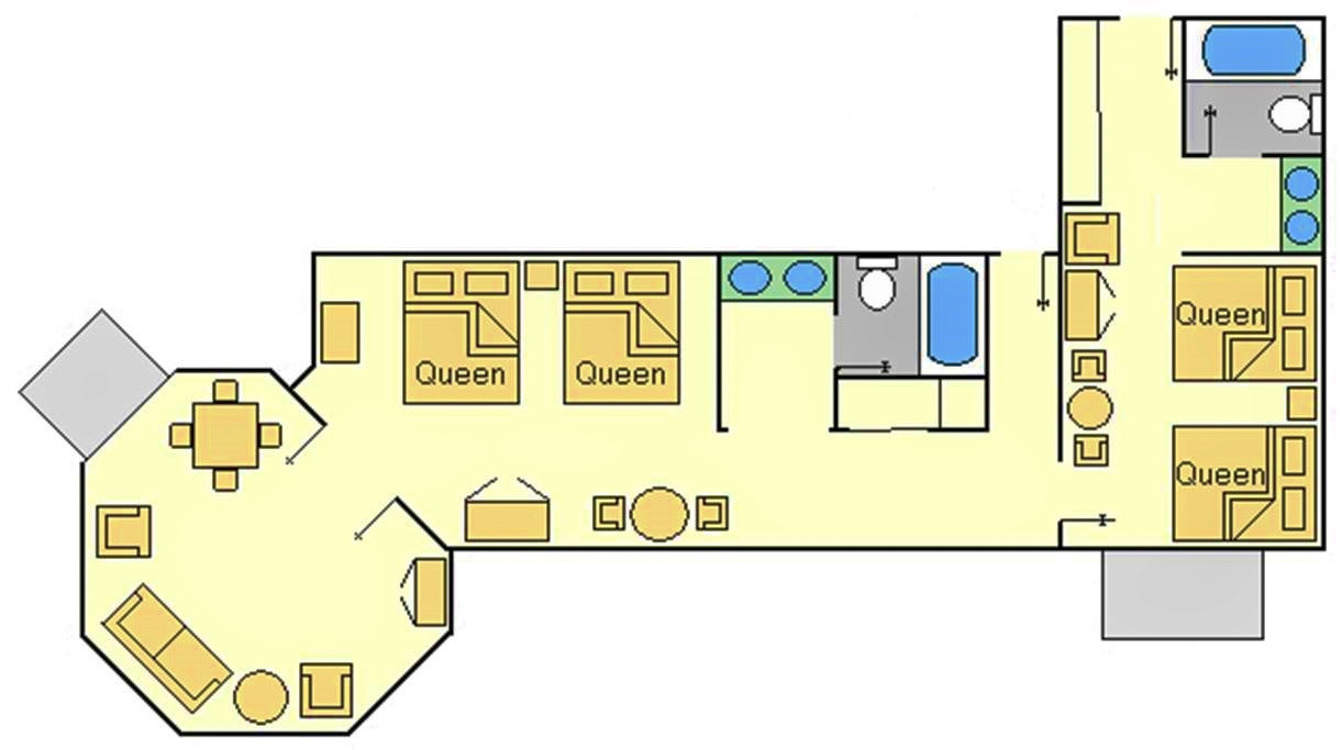 Disneyland Hotel 1 Bedroom Suite Floor Plan 28 Images Disney S Animal Kingdom Lodge Kidani