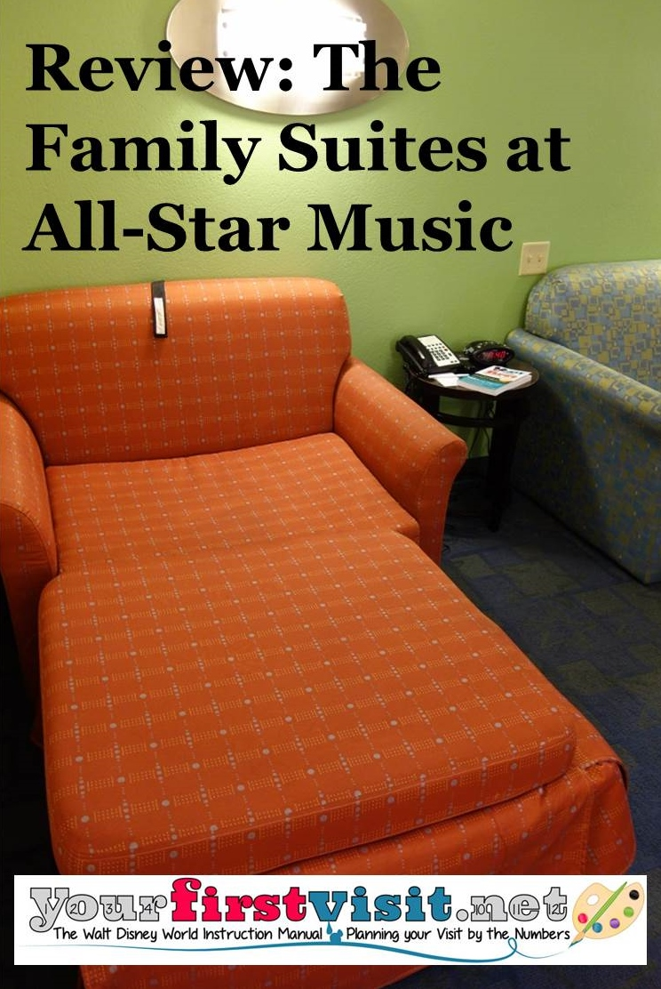 Review The Family Suites At Disney S All Star Music Resort