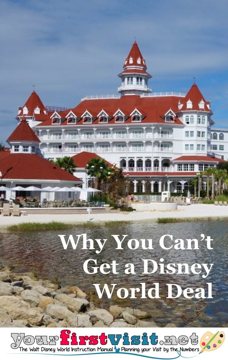 Why You Can't Get a Disney World Deal from yourfirstvisit.net