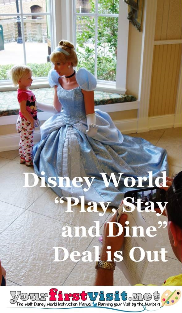 Disney World Play Stay and Dine Deal from yourfirstvisit.net