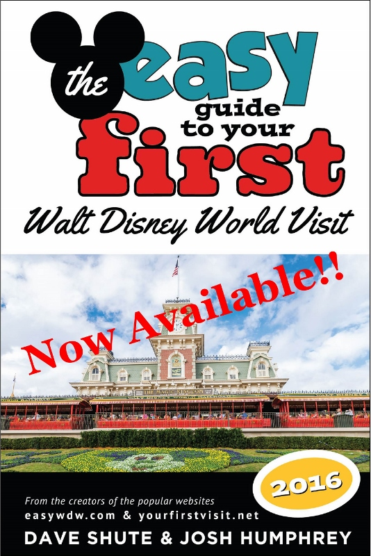 Just released--the 2016 edition of the best-reviewed Disney World guide book series, ever!!