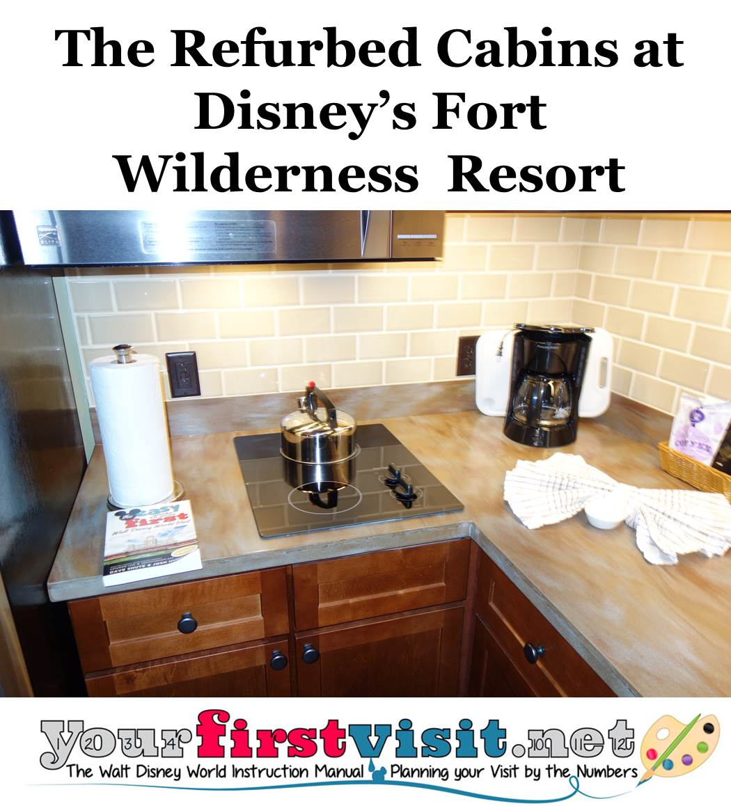 The Refurbed Cabins at Disney's Fort Wilderness Resort from yourfirstvisit.net